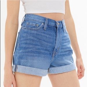 Urban Outfitters Mom High Rise Jean Shorts